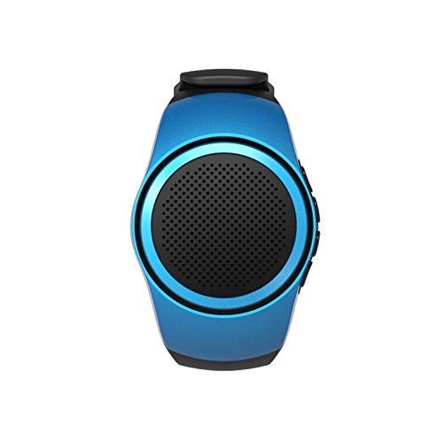 [해외]PYRUS 무선 블루투스 목록 스피커~ MP3 뮤직 플레이어 시계 - 미니 스피커~ 리모콘 용 소형 스피커 셀프 서비스~ 전화의 분실 방지 핸즈프리 통화~ TF 카드 재생~ FM 라디오/PYRUS Wireless Bluetooth List Speaker~ MP3 Music Player Watch - Mini ...