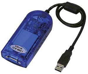 マルチディスプレイ USB2.0 ビデオカード サインはVGA 青箱 USB20SVGA