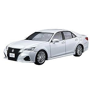 青島文化教材社 1/24 ザ・モデルカーシリーズ No.42 トヨタ GRS214/AWS210 クラウンアスリート 2015 プラモデル