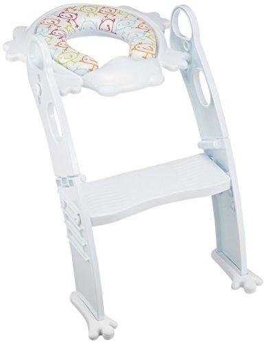 リトルプリンセス Little Princess かえるのふかふか ステップ式 トイレトレーナー ホワイト