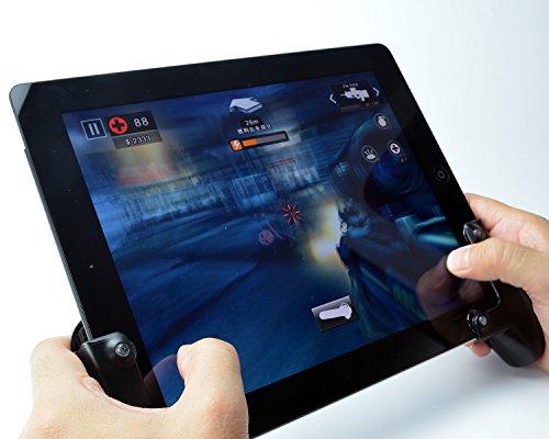 iPadでのゲーム操作性が向上する専用グリップ「ゲームグリップ for iPad / iPad Air / iPad mini」