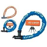 GORIN(ゴリン)GS5-700 シリンダー式ワイヤー錠 ブルー 700mm