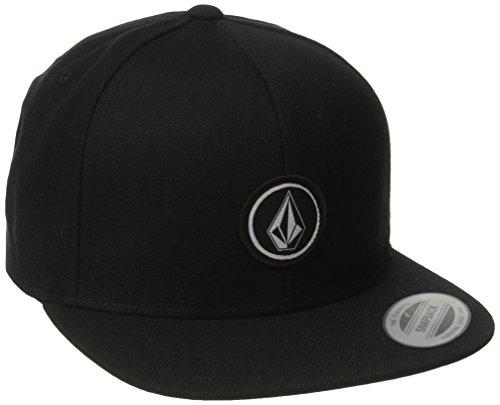 [ボルコム] キャップ (サイズ調整可能) [ D5511561 / Quarter Snap Back Cap ] 帽子 おしゃれ BLK_ブラック...