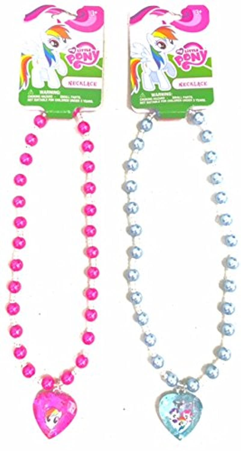 1 (One) My Little Pony 16 Pearl Necklace - Assorted