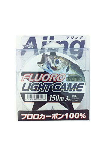 ヤマトヨテグス(YAMATOYO) ライン フロロライトゲーム 150m