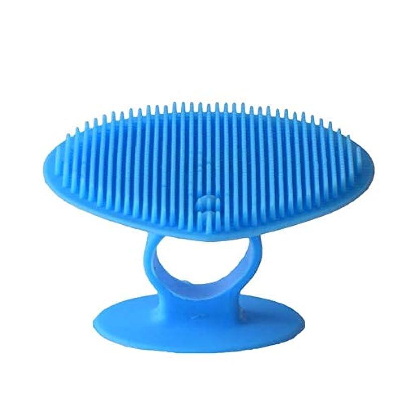 洗顔ブラシ ソフトシリコンフェイスクリーニングブラシマニュアルフェイシャルマッサージブラシハンドヘルドマットスクラバーメイクアップブラシフェイスエクスフォリエーター ディープクレンジングスキンケア用