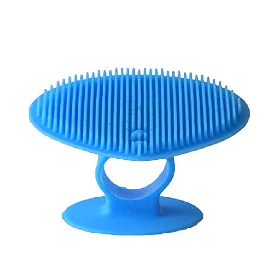 誇張するコンプライアンスシュガー洗顔ブラシ ソフトシリコンフェイスクリーニングブラシマニュアルフェイシャルマッサージブラシハンドヘルドマットスクラバーメイクアップブラシフェイスエクスフォリエーター ディープクレンジングスキンケア用