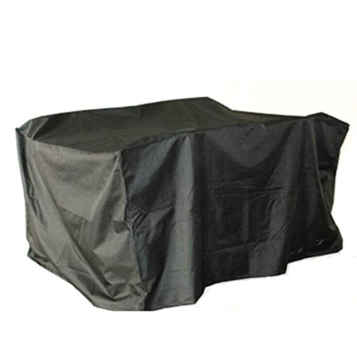 言語学微視的生命体Yushengxiang 屋外テント屋外庭niture雨カバー庭防水テーブルと椅子カバー (Color : ブラック, サイズ : 200x716x84CM)