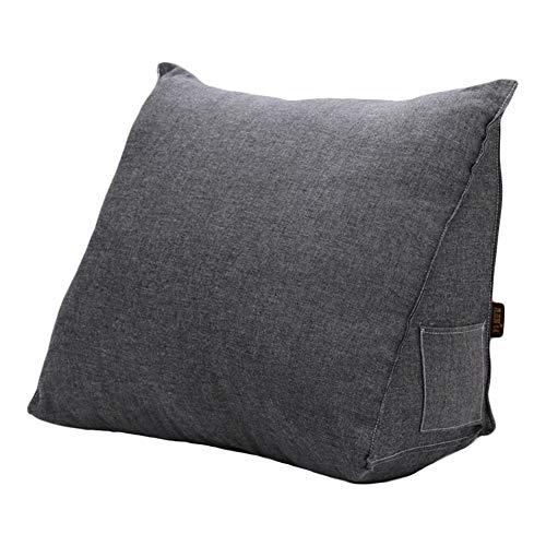 tokucsyp三角 枕 クッション テレビ枕 腰クッション 背もたれ 洗える 幅50cm高さ30cm奥行き20cm