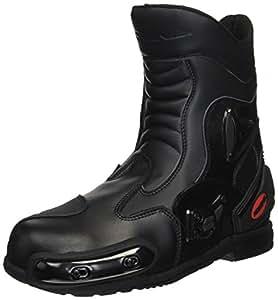 コミネ(Komine) バイクブーツ プロテクトスポーツショートライディングブーツ ブラック 26cm 05-067 BK-067