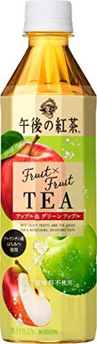 キリン 午後の紅茶 Fruit×Fruit TEA アップル&グリーンアップル 500mlPET ×24本