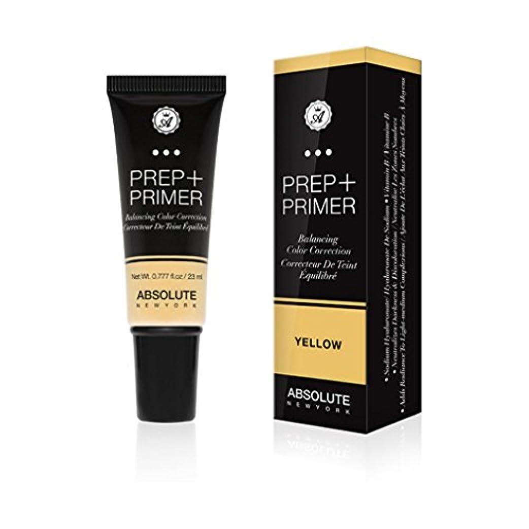 塩辛い略語どれか(3 Pack) ABSOLUTE Prep + Primer - Yellow (並行輸入品)