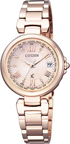 [シチズン]CITIZEN 腕時計 xC クロスシー エコ・ドライブ電波時計 ハッピーフライトシリーズ EC1032-54X レディース