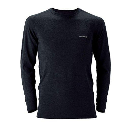 モンベル スーパーメリノウールM.W.ラウンドネックシャツ