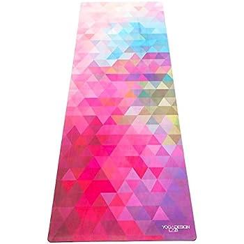 Yoga Design Lab (ヨガデザインラボ) ヨガマット 厚さ 1.5mm コミューターマット 折りたたみ ストラップ付