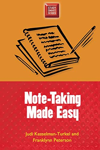 Download Note-Taking Made Easy (Study Smart Series) 0299191540