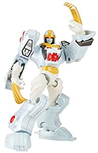 Power Rangers Dino Charge - Mixx N Morph Mighty Morphin White Ranger and Tiger Zord Action Figure [並行輸入品]