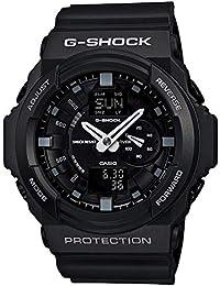[カシオ]CASIO G-SHOCK Gショック ジーショック メンズ BASIC アナログ デジタル アナデジ ブラック 20気圧防水 海外モデル GA-150-1A 腕時計[並行輸入品]