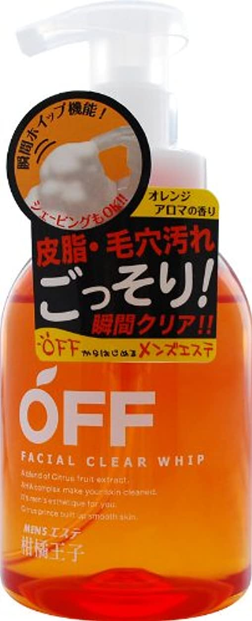 バタフライゲインセイオーバーコート柑橘王子 フェイシャルクリアホイップN 360ML