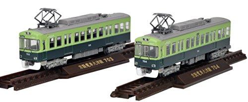 鉄道コレクション 鉄コレ 京阪電車 大津線 700形 2両セット ジオラマ用品