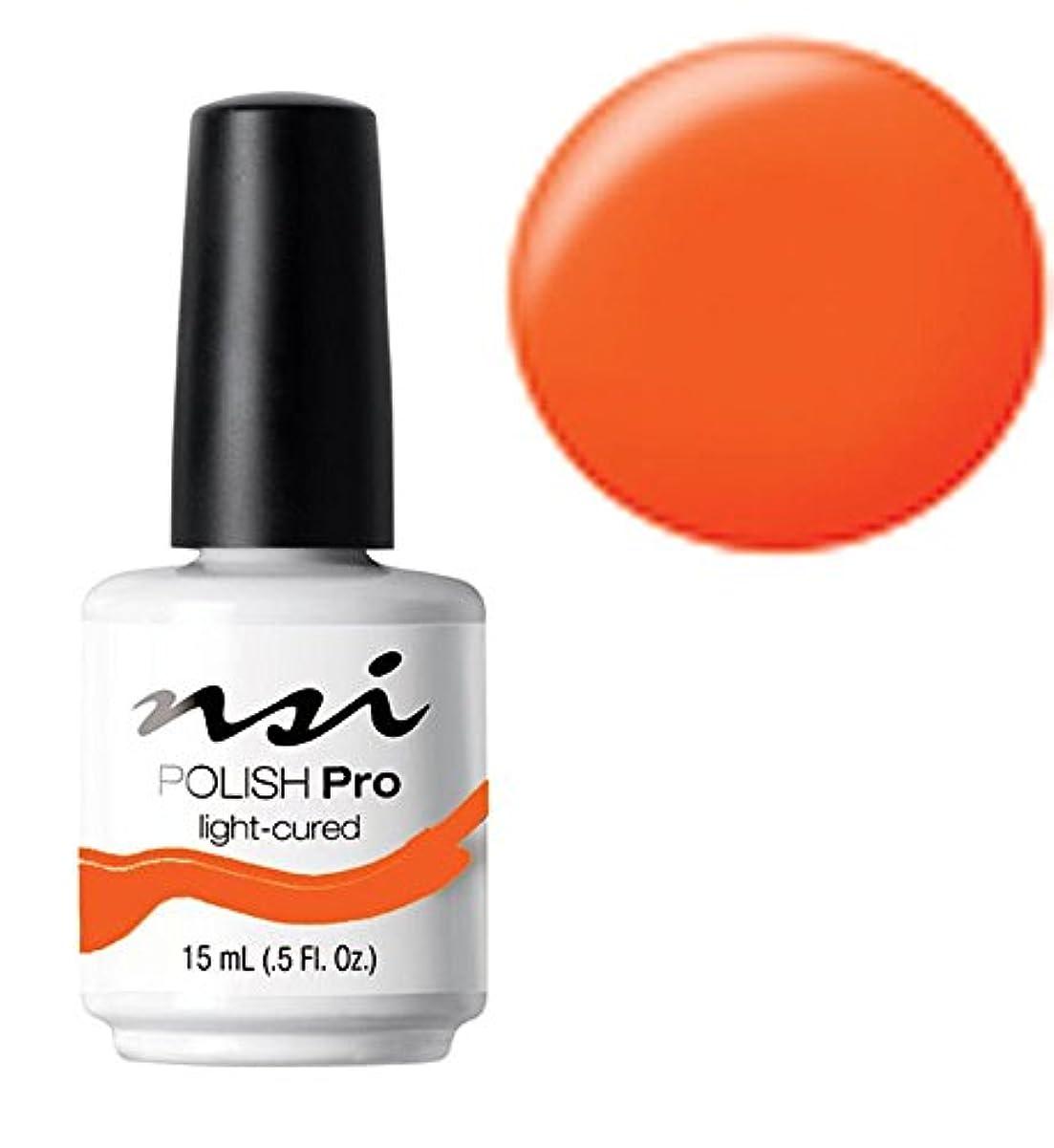 子供達新鮮な説明的NSI Polish Pro Gel Polish - Hot Orange - 0.5oz / 15ml