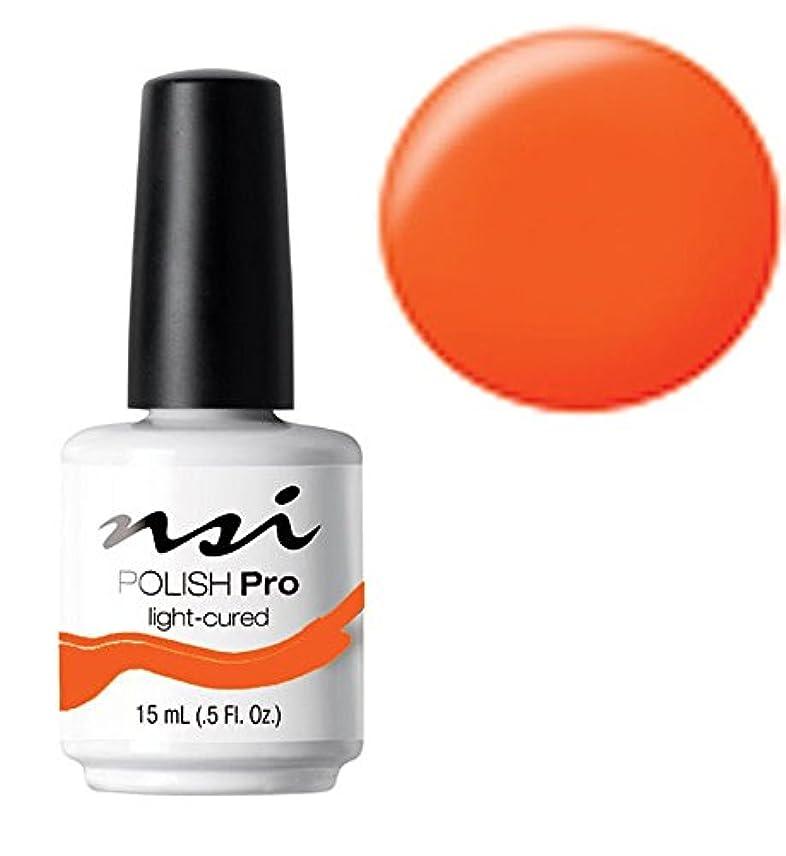 瞑想的ビジョン遅れNSI Polish Pro Gel Polish - Hot Orange - 0.5oz / 15ml