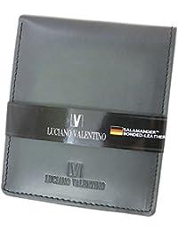 ルチアーノ バレンチノ LUCIANO VALENTINO 短財布 メンズ LUV-7002-BK ブラック 財布?小物 財布 短財布