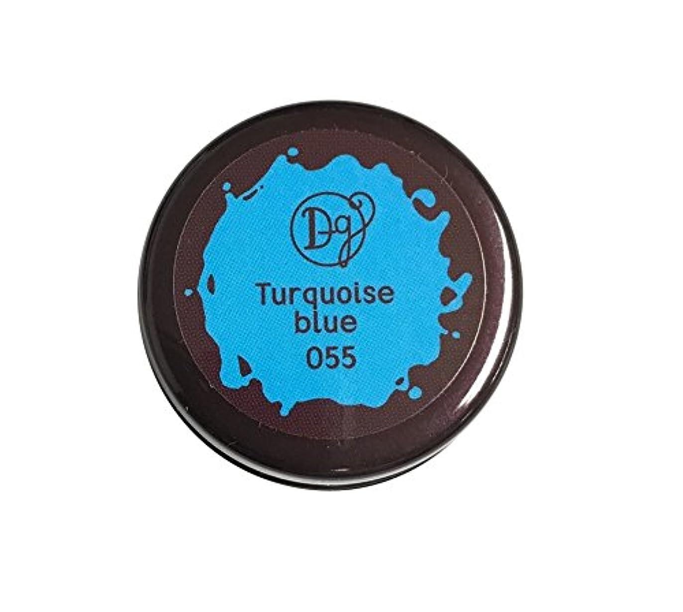 タウポ湖最大ブリードDECORA GIRL カラージェル #055 ターコイズブルー