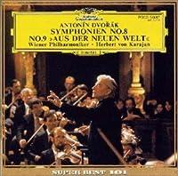 """""""ドヴォルザーク : 交響曲第8番,第9番「新世界より」"""""""