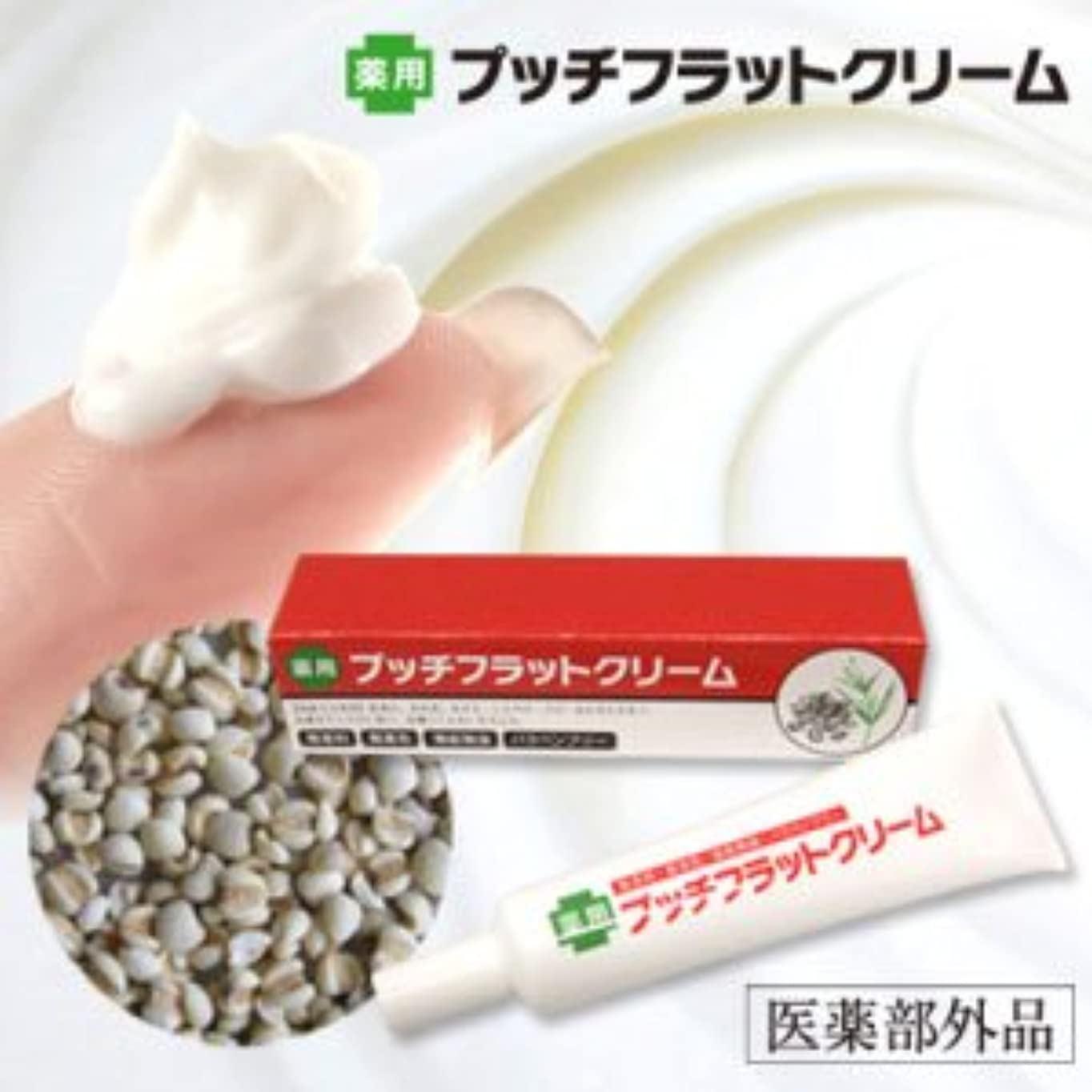 家主傾向ピア薬用プッチフラットクリーム(医薬部外品)