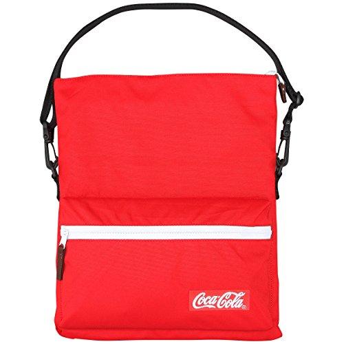 e9b6d662c80d Coca-Cola(コカ・コーラ) サコッシュバッグ レッド  必要最低限の荷物を入れて、気軽に持ち歩けるサコッシュバッグ。コンパクトなサイズ感が体にフィットし、タウン ...