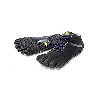 Vibram FiveFingers Men`s TREK ASCENT INSULATED レディース Black/Purple 15W5303 (W36(22.5cm), Black/Purple)