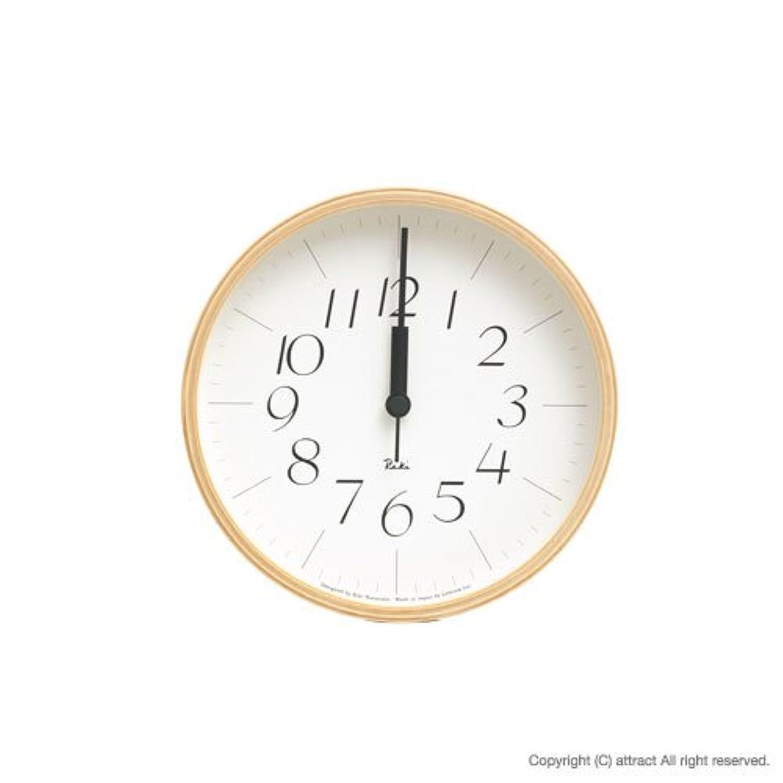Lemnos レムノス Riki Clock リキ クロック 細字 Sサイズ WR0312S 壁掛け時計 掛時計 時計 ウォールクロック  デザイン:渡辺 力(インテリア デザイン 雑貨)