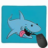 Shark サメ マウスパッド オフィス 自由な操作できる レーザー&光学式マウス対応 高級感 使い心地も最高 マウスパッドキーボードパッド パソコン作業 マウス敷 おしゃれ