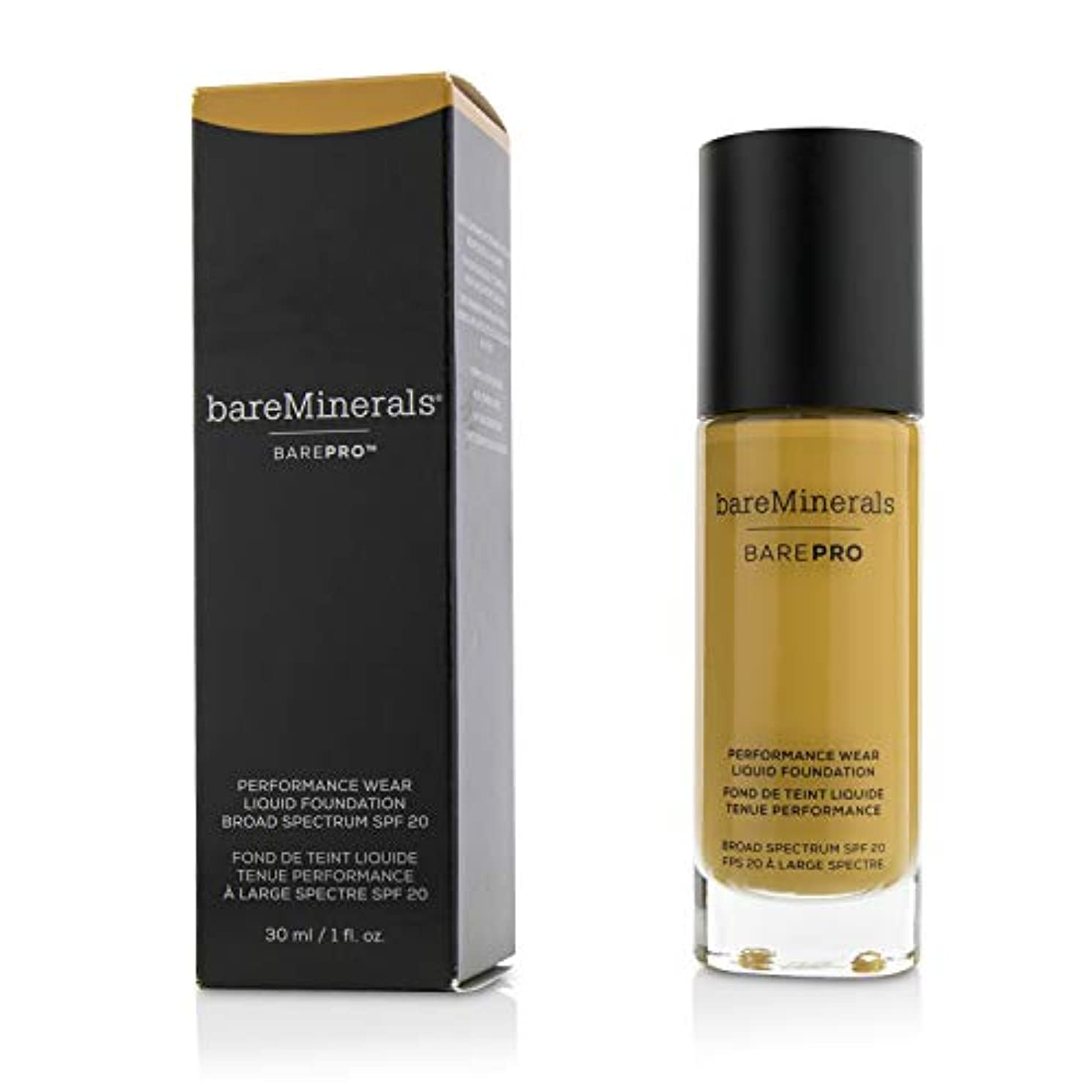 幹ペース職業ベアミネラル BarePro Performance Wear Liquid Foundation SPF20 - # 21 Sable 30ml/1oz並行輸入品