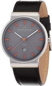 [スカーゲン]SKAGEN 腕時計 basic leather mens 351XLSLBMO ケース幅: 36mm メンズ [正規輸入品]