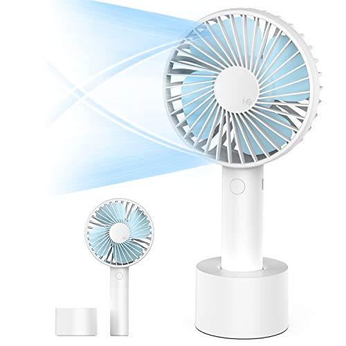 携帯扇風機 手持ちファン USB充電式 2500mAh 持ち運びやすい 3階段風速 卓上扇風機 ハンディファン コンパクト 小型 熱中症対策 ミニファン