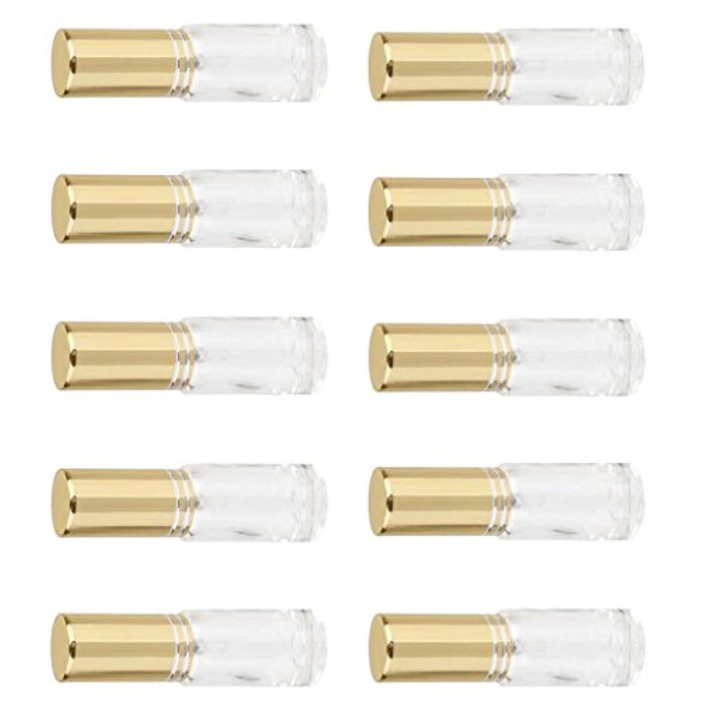 バタフライ疑問に思う観客詰め替え可能 男女兼用 香水瓶 容器 ミニ ガラス 香水 アトマイザー ポンプ スプレー 10個入り