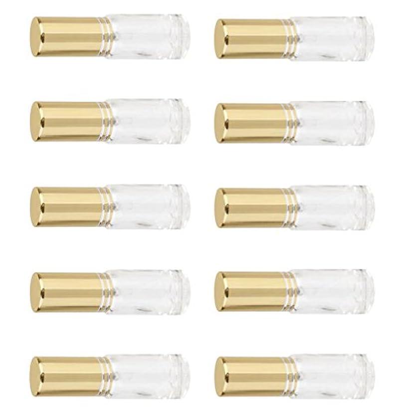 詰め替え可能 男女兼用 香水瓶 容器 ミニ ガラス 香水 アトマイザー ポンプ スプレー 10個入り