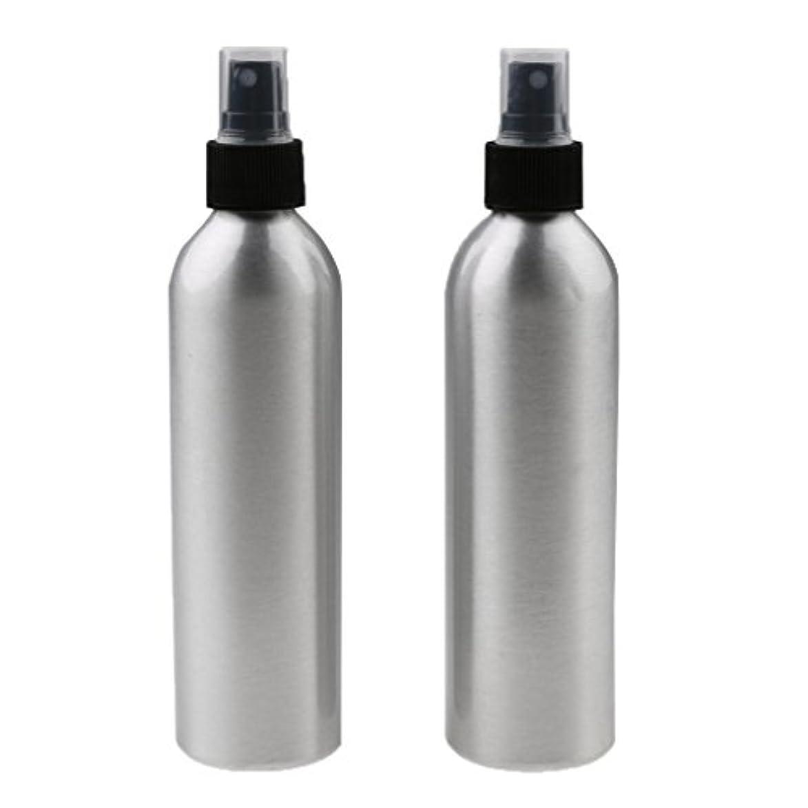 引き渡すスキャンダラスその間SONONIA 2個入り 旅行 アルミ ミスト スプレー 香水ボトル メイクアップ スプレー アトマイザー 小分けボトル  漏れ防止 出張 海外旅行用 全4サイズ - 250ml