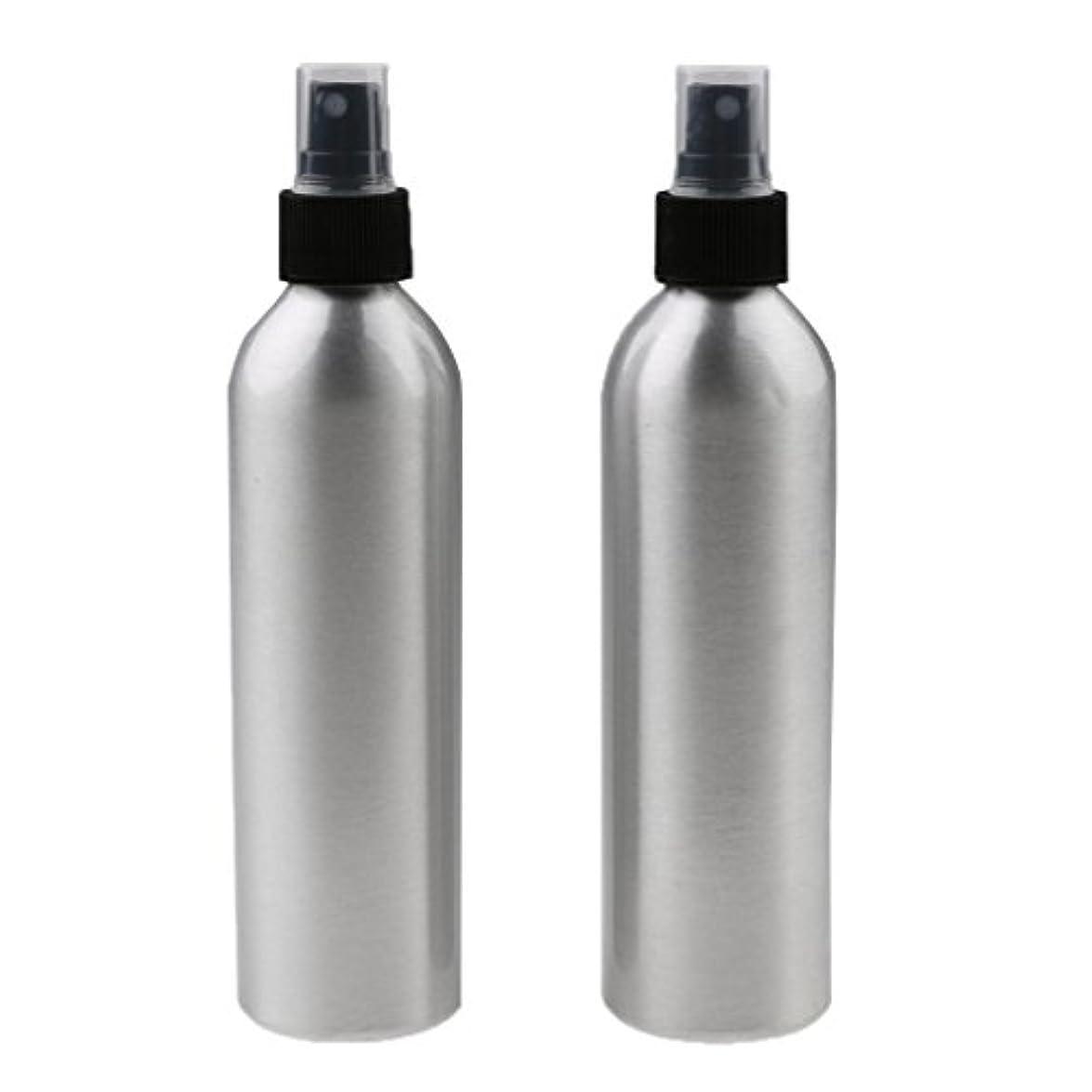 依存経営者王女2個入り 旅行 アルミ ミスト スプレー 香水ボトル メイクアップ スプレー 小分けボトル  全4サイズ - 250ml