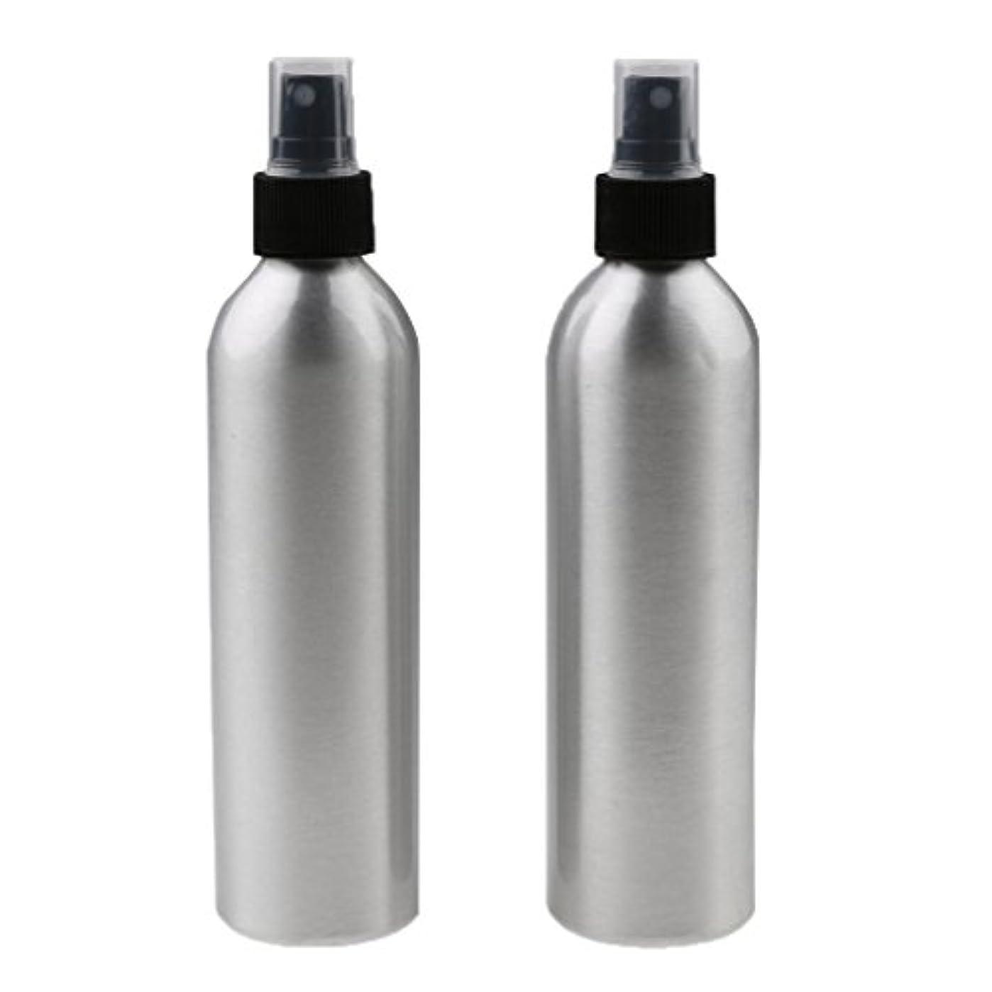 年金受給者大砲複雑でないKesoto 2個入り 旅行 アルミ ミスト スプレー 香水ボトル メイクアップ スプレー アトマイザー 女性用 美容 小物 軽量 持ち運び便利 全4サイズ - 50ml