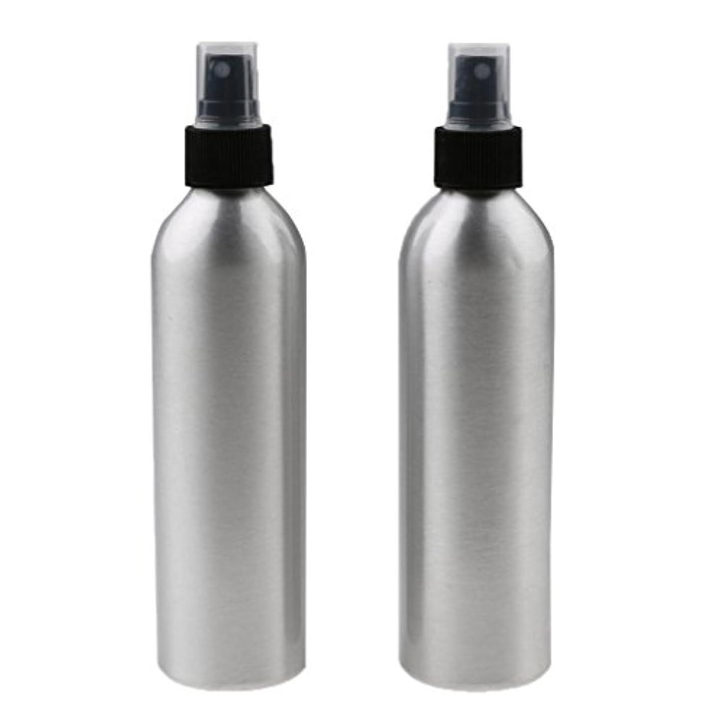 彼女診療所憂鬱Kesoto 2個入り 旅行 アルミ ミスト スプレー 香水ボトル メイクアップ スプレー アトマイザー 女性用 美容 小物 軽量 持ち運び便利 全4サイズ - 50ml