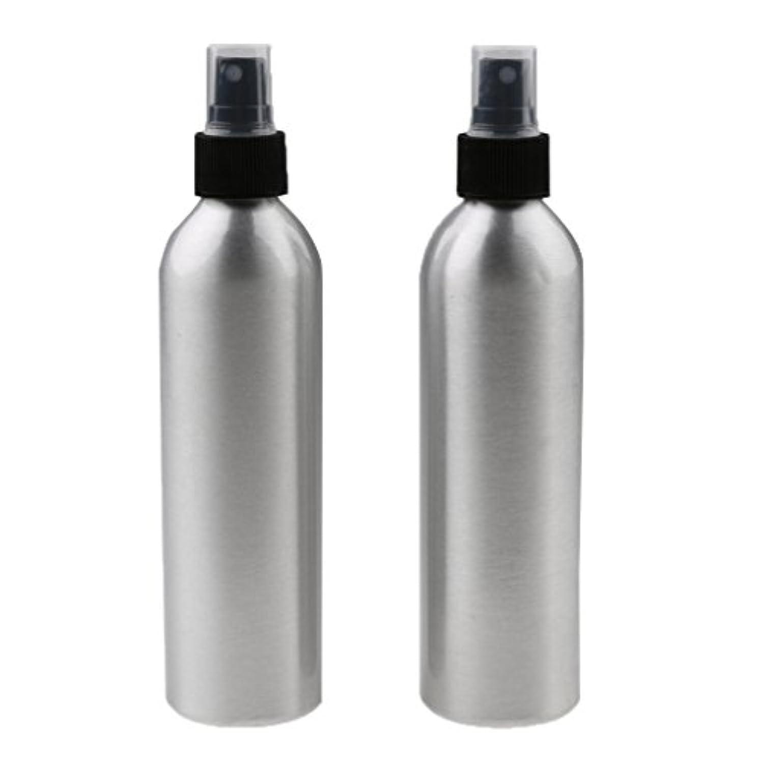 SONONIA 2個入り 旅行 アルミ ミスト スプレー 香水ボトル メイクアップ スプレー アトマイザー 小分けボトル  漏れ防止 出張 海外旅行用 全4サイズ - 100ml