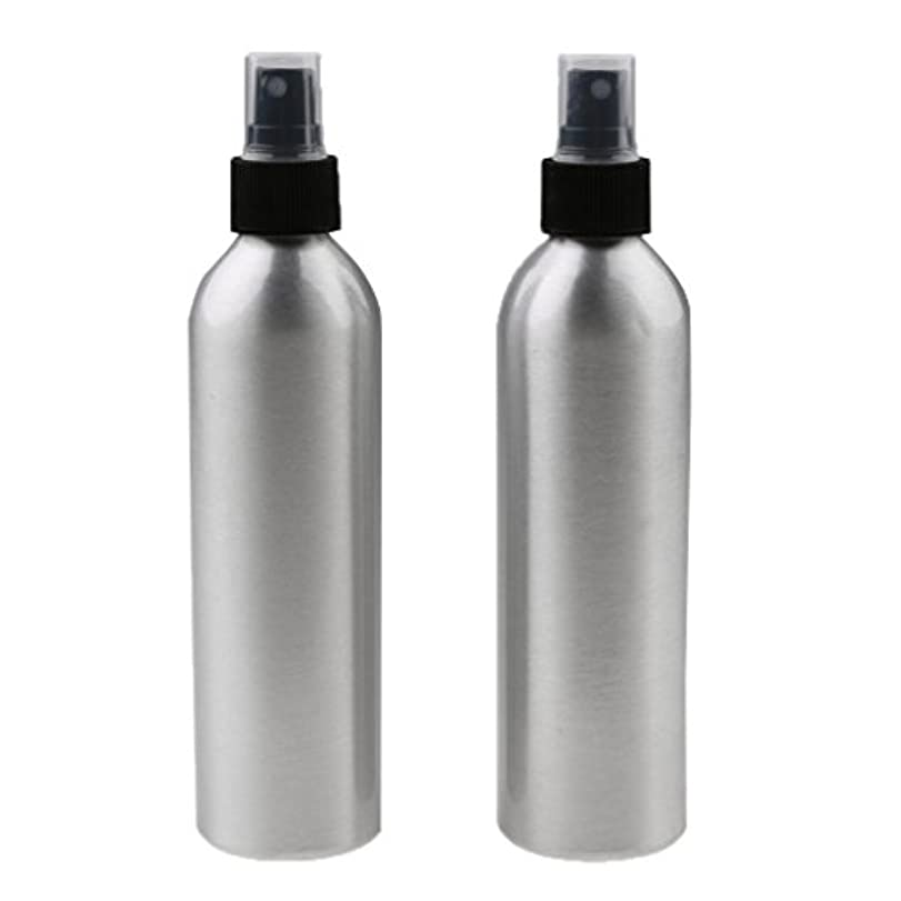 前述のダーツ甘いスプレーボトル 化粧水 ミスト サロン アルミニウム スプレーびん 霧吹き 詰め替え式 全4サイズ - 50ml