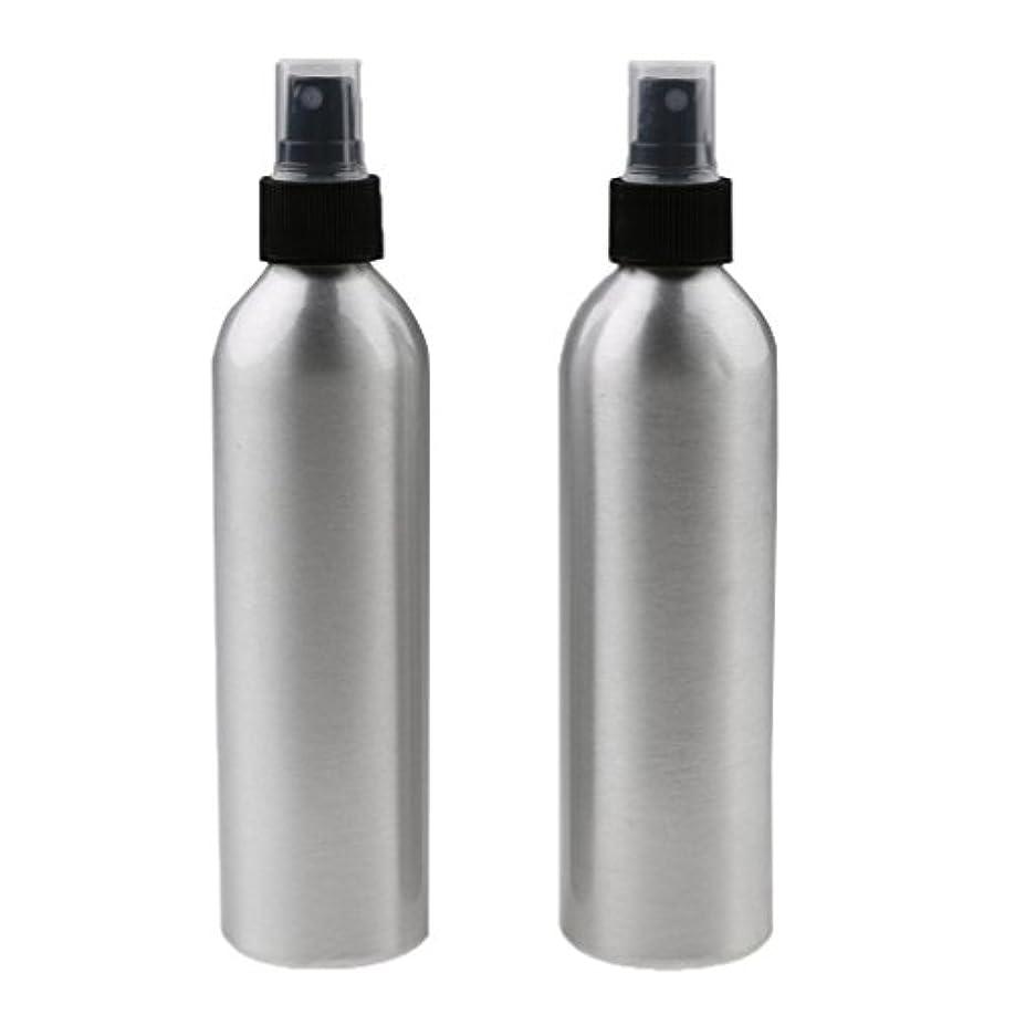 粉砕する吸収盟主Kesoto 2個入り 旅行 アルミ ミスト スプレー 香水ボトル メイクアップ スプレー アトマイザー 女性用 美容 小物 軽量 持ち運び便利 全4サイズ - 100ml