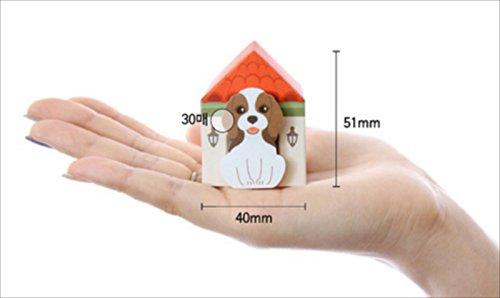 玩具の神様 かわいい 小屋入り犬 - ひろって ワンコ 付箋 - 5種類 x 30枚 豪華150枚 癒しの ワンコ 付箋 メモ マーカー セット