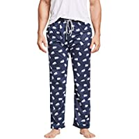 CYZ Men's Fleece Pajama Pant, North Bear, Mens Size: X-Large