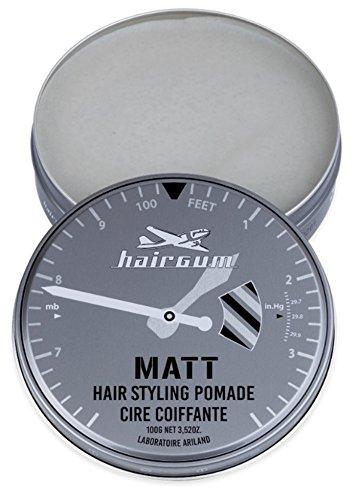 hairgum Matt Pomade 100g ヘアガム マット 油性 ポ...