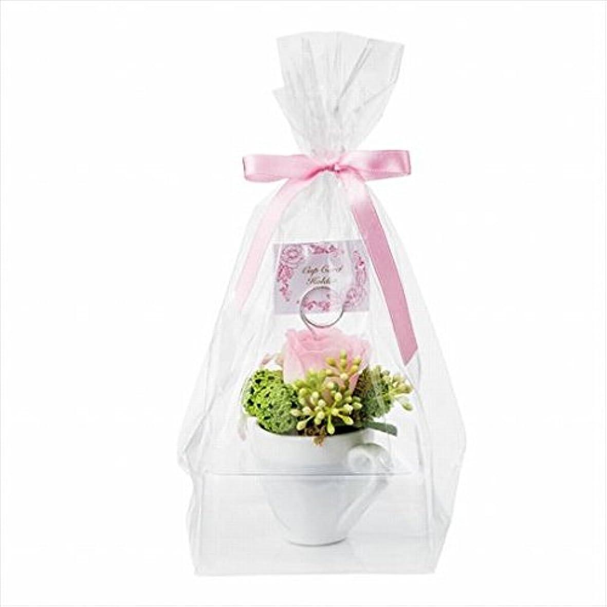 人物赤ちゃんフィットカメヤマキャンドル(kameyama candle) プチカップカードホルダー 「 ピンク 」